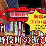 新宿のエロい店はここだ!新宿・歌舞伎町の遊び方